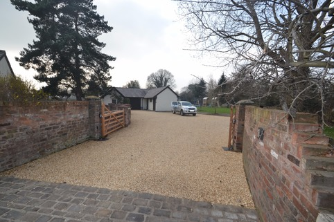 Stabilised Gravel driveway in Northwich